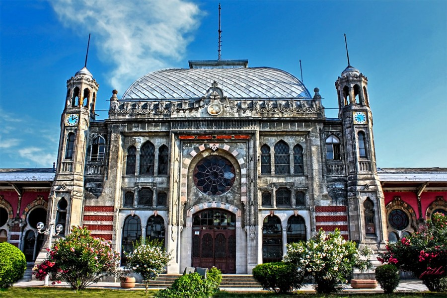 Sirkeci Terminal by German architect August Jasmund,  1890, Istanbul