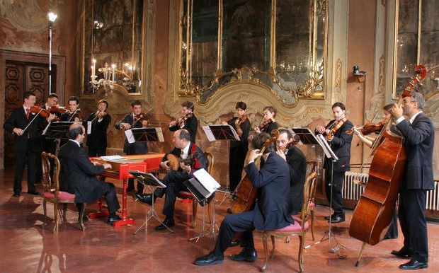 Bir Barok müzik topluluğu