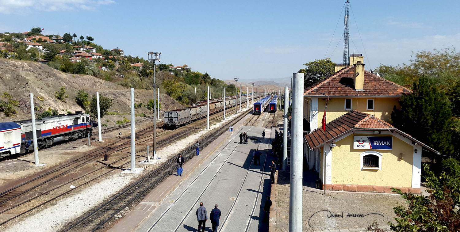 Train station at Irmak. Photo: Orhan Ahıskal