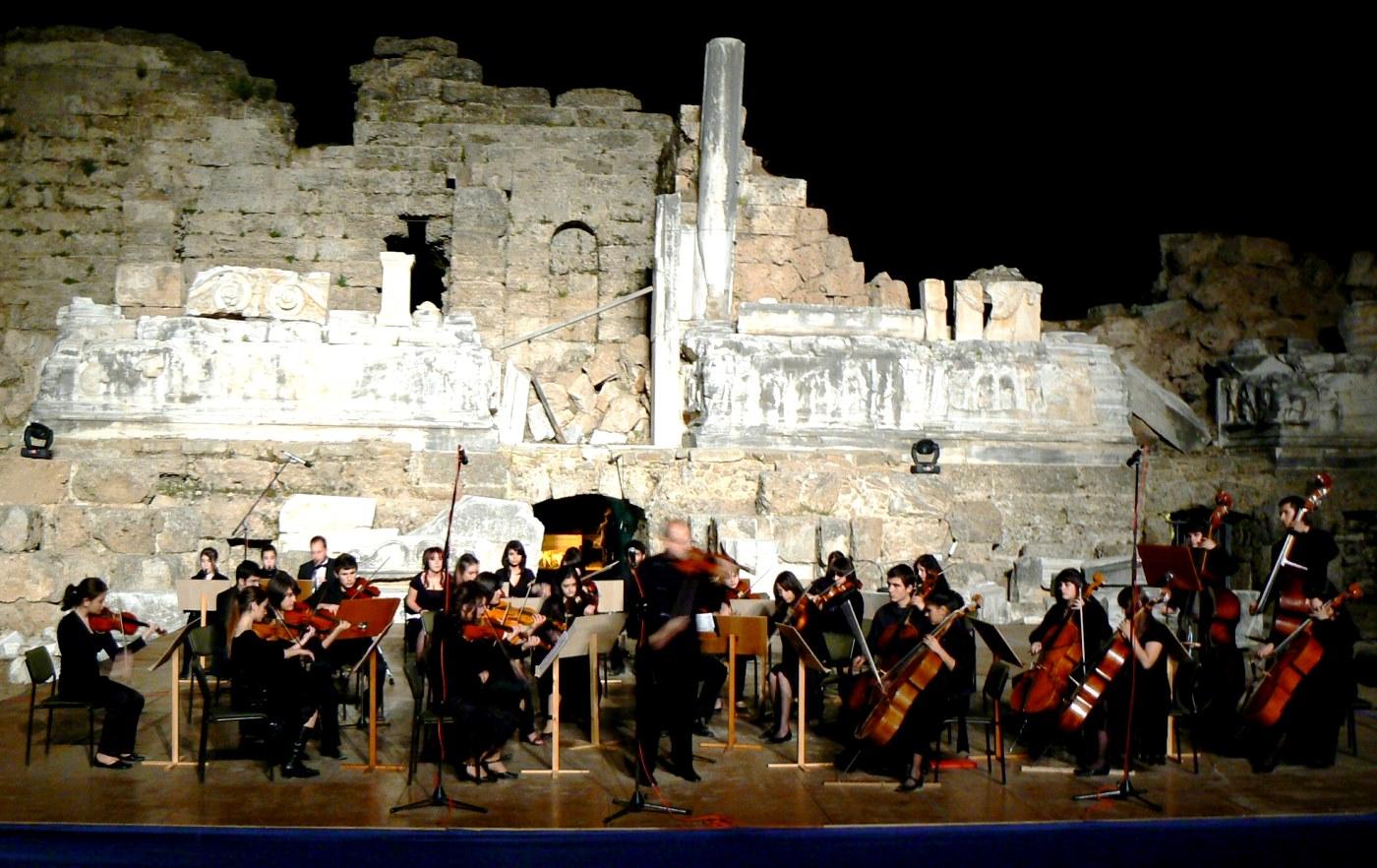 Side Antik Tiyatro Konseri, 25.04.2007