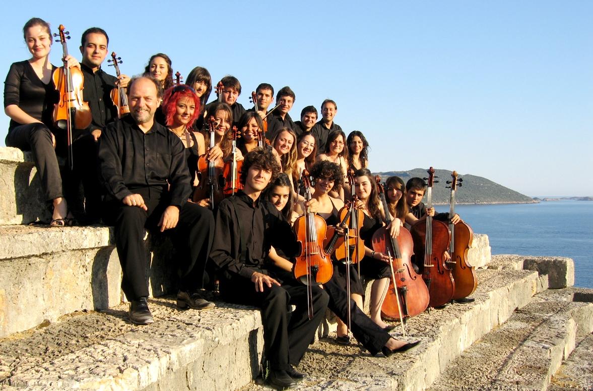 Kaş Antik Tiyatro'daki konserlerimizden bir hatıra, 2008