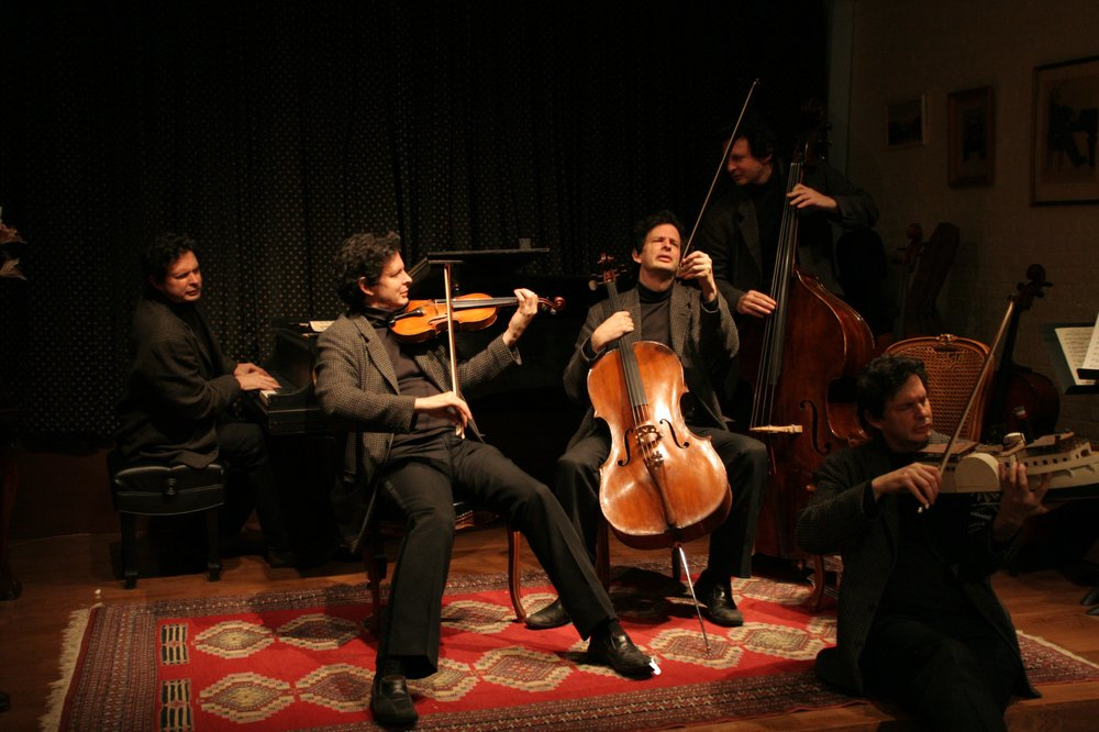 Gregory Singer onkeyboard, violin, cello, doublebass and...