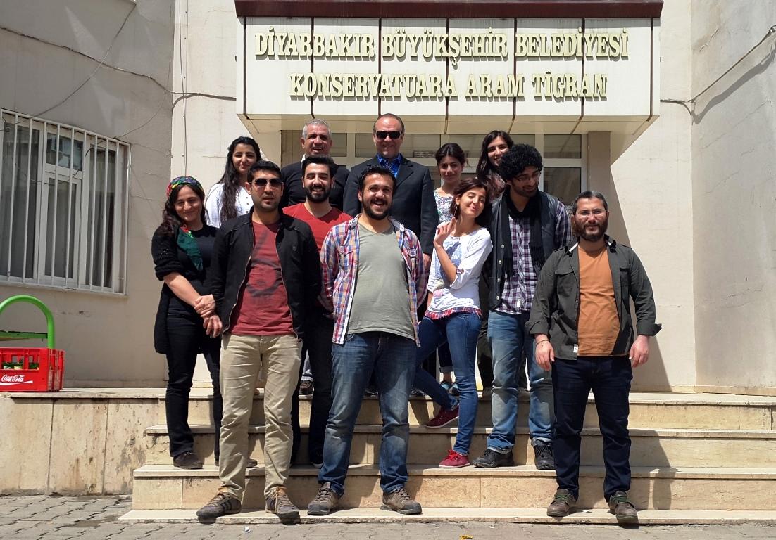 Workshop, Aram Tigran Belediye Konservatuvarı, Diyarbakır