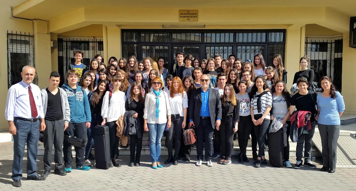 Masterclass, Buca Güzel Sanatlar Lisesi, İzmir