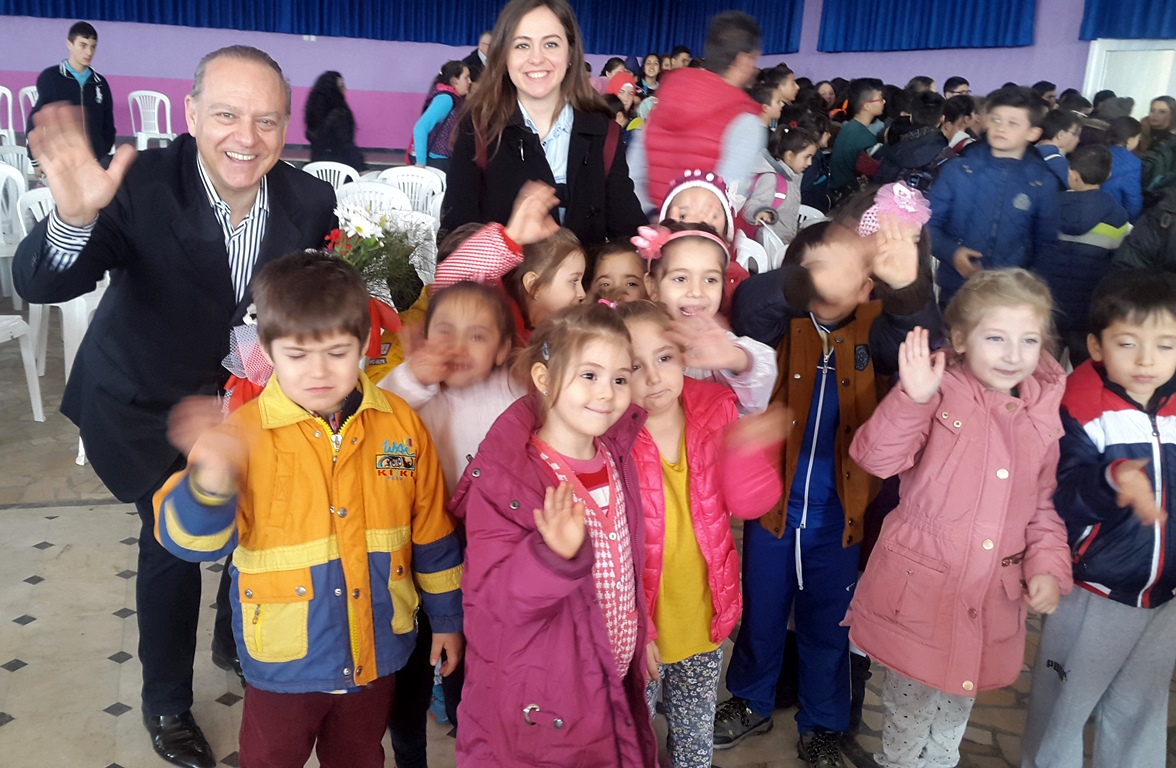 Büyükdoğanlı Atatürk Ortaokulu, Saray, Tekirdağ