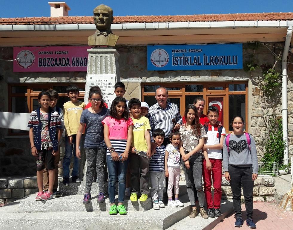 İstiklal İlkokulu, Bozcaada