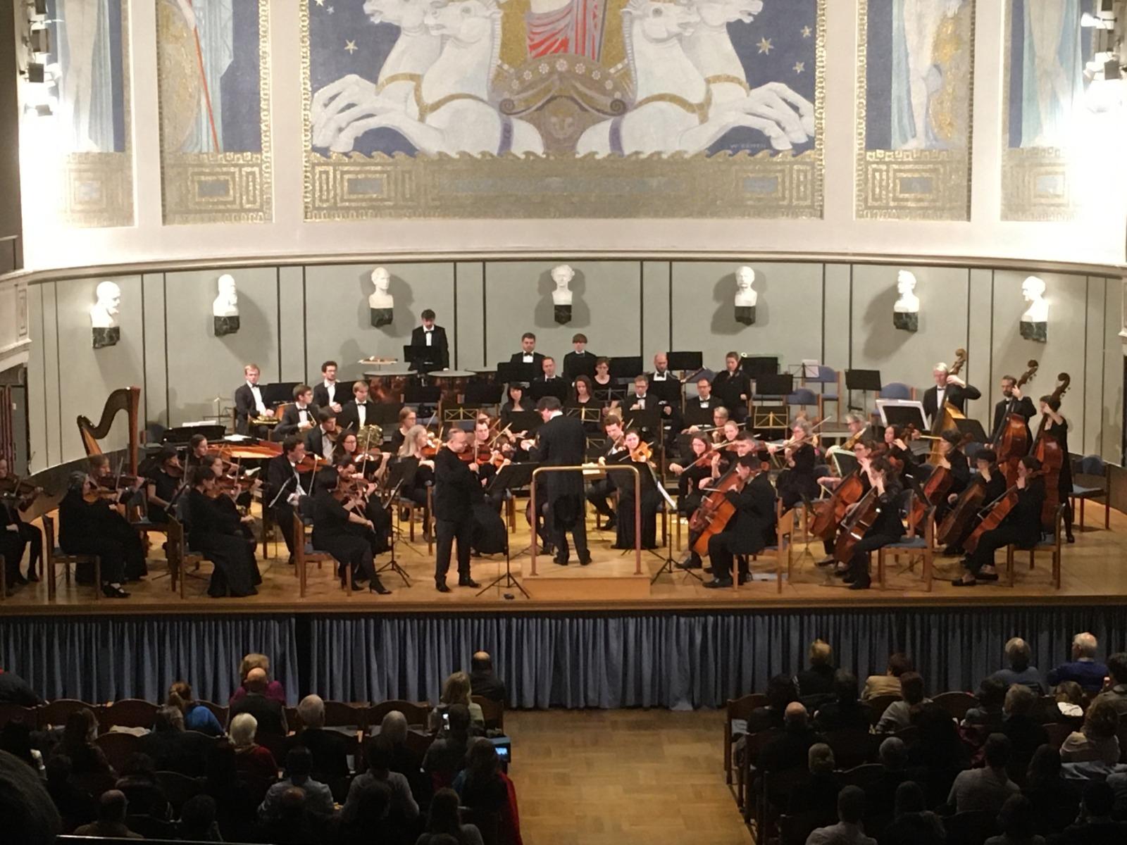 20200215 Violin Concerto, Große Aula der LMU, Munich